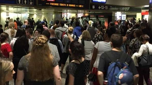 There were LIRR cancellations and delays in both