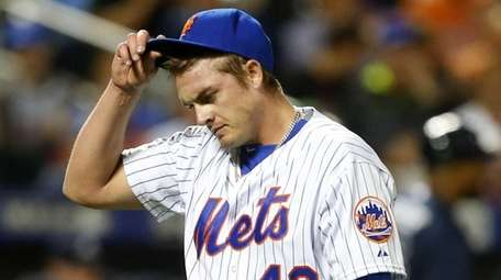 Addison Reed #43 of the New York Mets