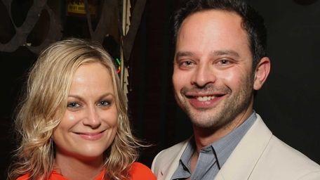 Amy Poehler and Nick Kroll have broken up