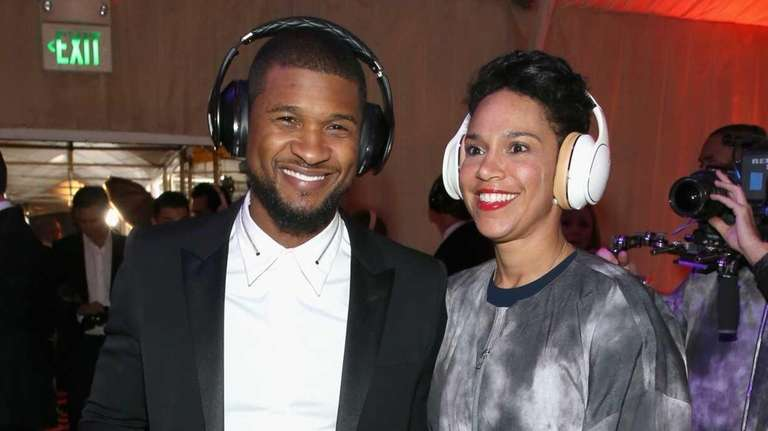 Usher and his business partner Grace Miguel married