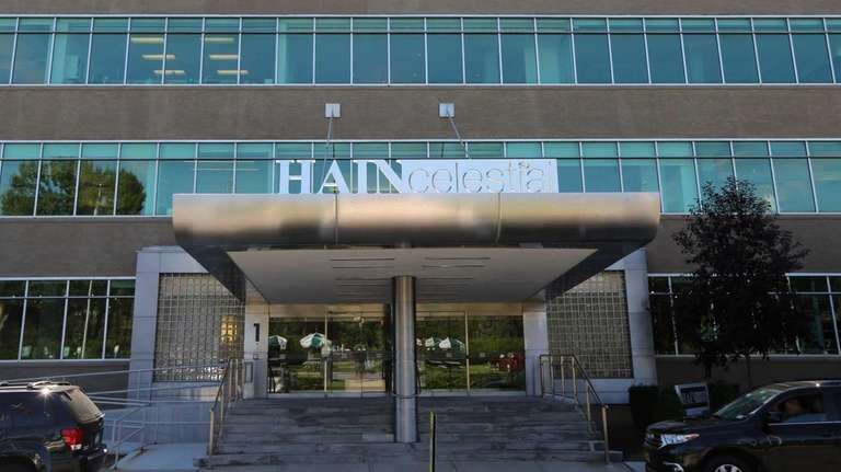 Hain Celestial's headquarters in Lake Success is pictured