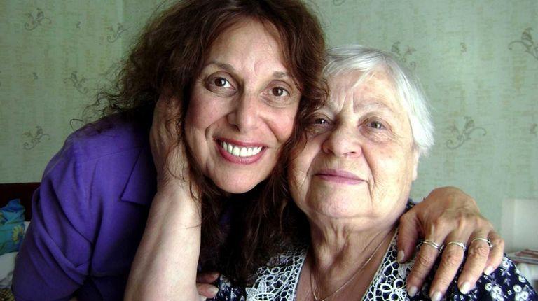 Zane Buzby with Eva Semyonovna, 85, at her
