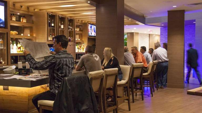 Recent renovations at the Melville Marriott Long Island,
