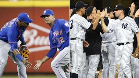 The Mets and Yankees are both on track