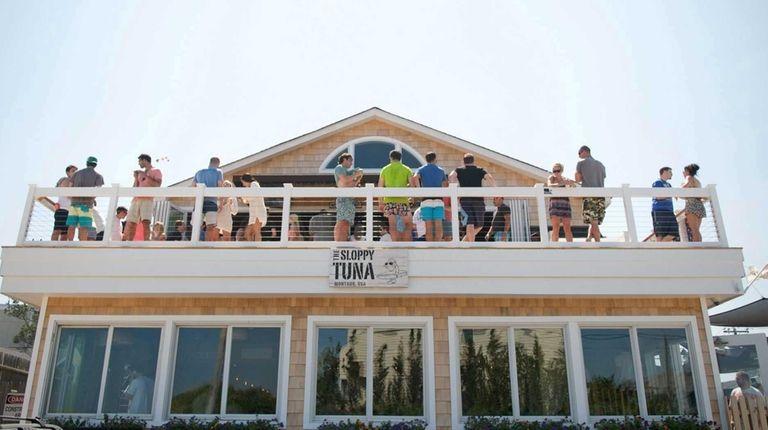 The Sloppy Tuna in Montauk on July 9,