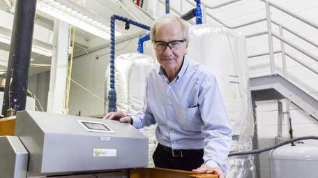 Tom Butcher, research engineer at Brookhaven National Laboratory,