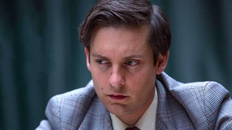 Tobey Maguire as Bobby Fischer in
