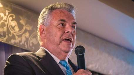 Rep. Peter King on Sept. 25, 2015, lamented