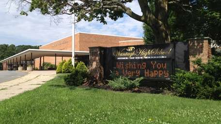 A Wantagh High School staff member diagnosed with