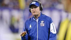 New York Giants head coach Tom Coughlin talks