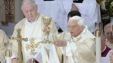 The Bronx, April 20, 2008: Pope Benedict XVI