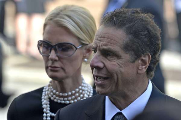 Gov. Andrew M. Cuomo and his longtime partner,