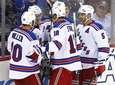 New York Rangers center Derek Stepan (21) is