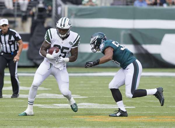 New York Jets tight end Jeff Cumberland (85)