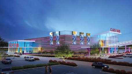 Rendering of the Suffolk Regional OTB Gaming Facility,