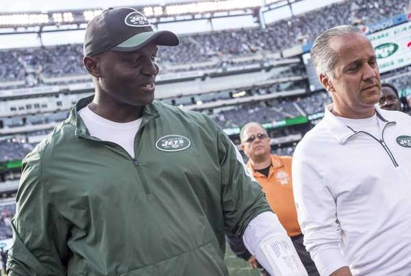 New York Jets head coach Todd Bowles after