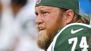 Nick Mangold #74 of the New York Jets