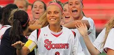 St. John's Rachel Daly tied the school record
