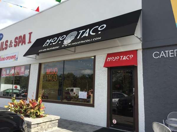 New and Tex-Mex in Farmingdale is Mojo Taco.