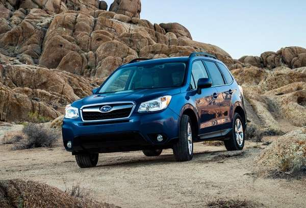 The 2014 Subaru Forester.