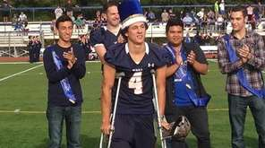Smithtown West Homecoming King Michael Alfano is captain