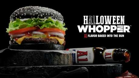 The A.1 Halloween Whopper at Burger King has