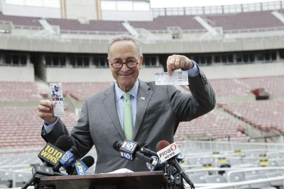 Sen. Chuck Schumer introduces a new Senate bill