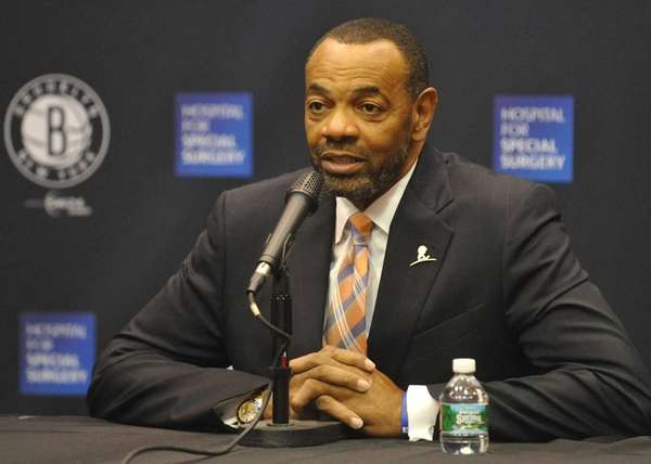 Brooklyn Nets Head Coach Lionel Hollins fields questions