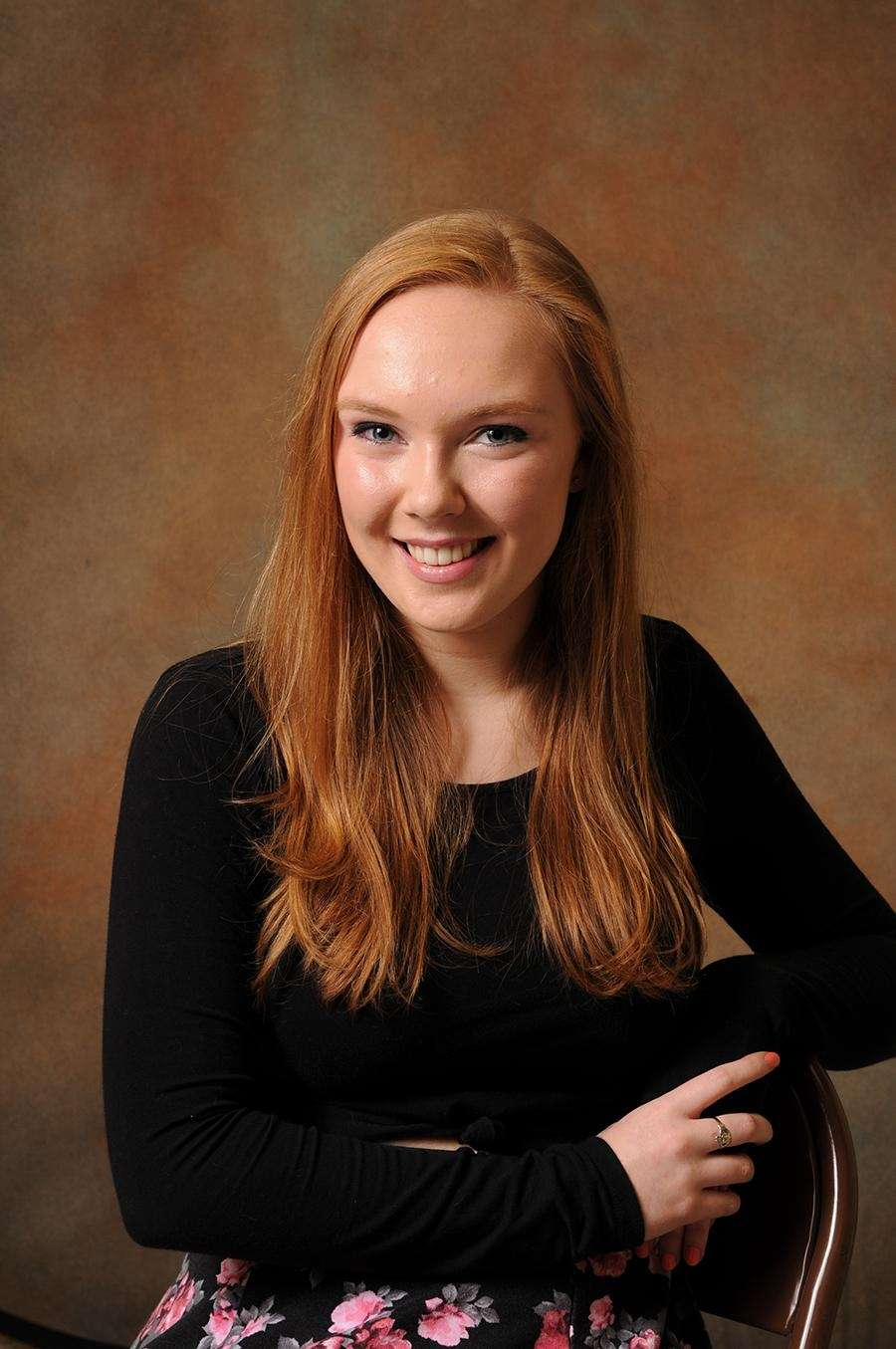 Erin O'Kelly, a senior studying at The Wheatley