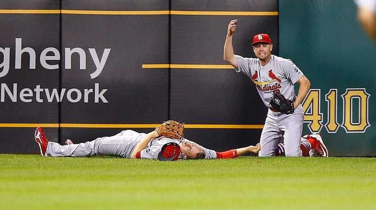 Stephen Piscotty #55 of the St Louis Cardinals