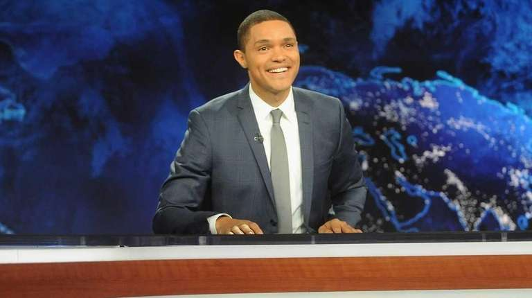 Trevor Noah hosts Comedy Central's
