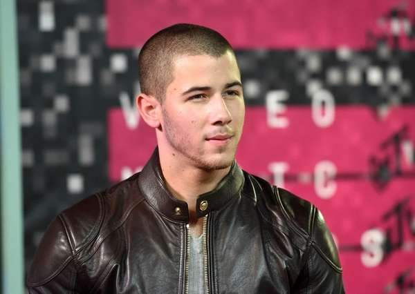Nick Jonas attends the 2015 MTV Video Music