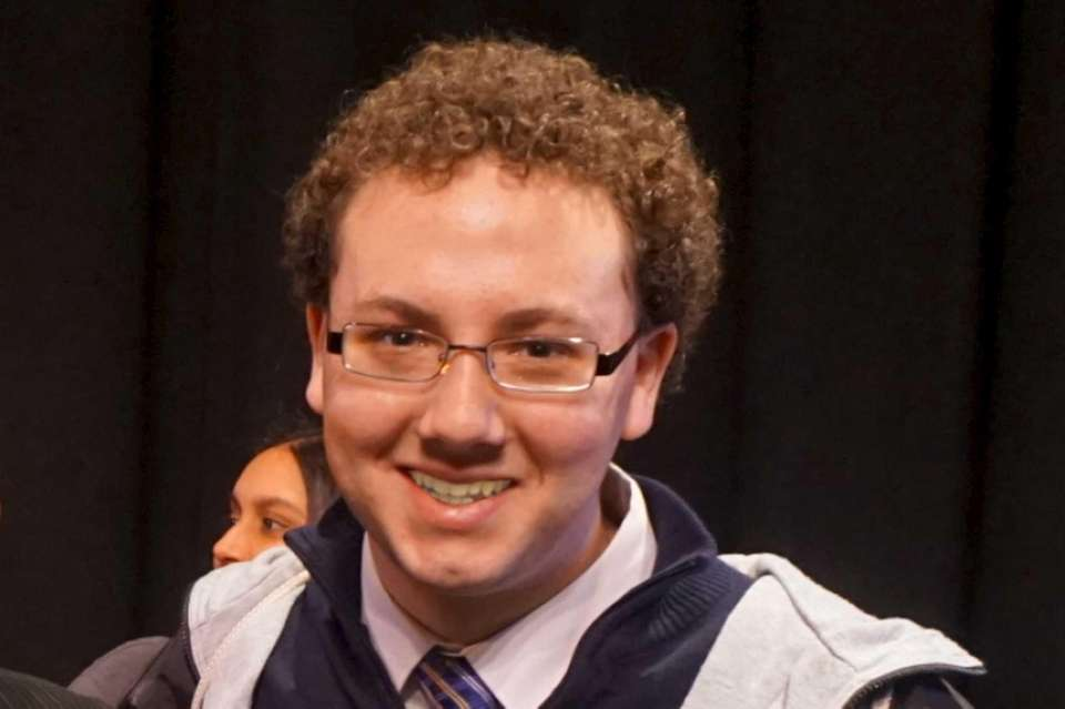 Thomas Kenna, 17, a senior at Floral Park