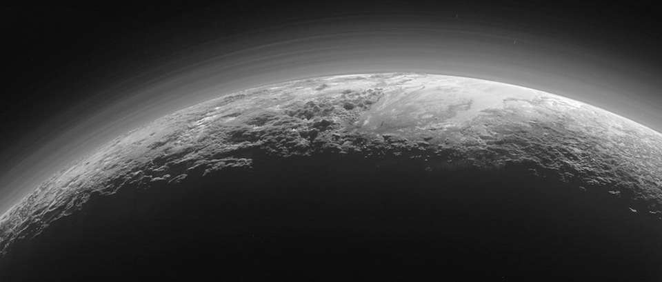NASA's New Horizons spacecraft captured this image of