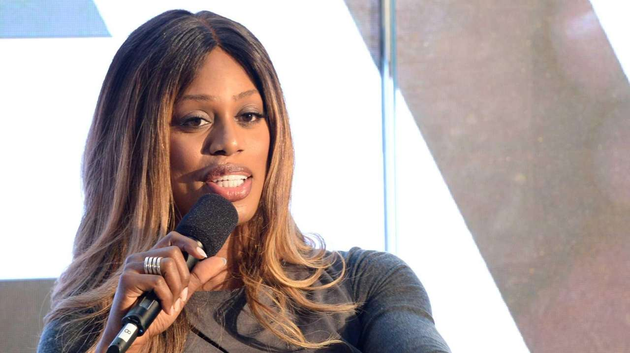 Laverne Cox at the Viacom Leadership Breakfast: The