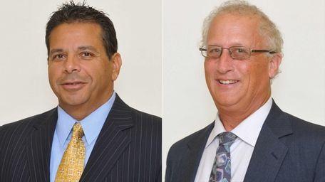 Christopher Pulitano, left, and Thomas Licari both withstood
