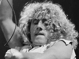 Roger Daltrey performs with The Who at Madison