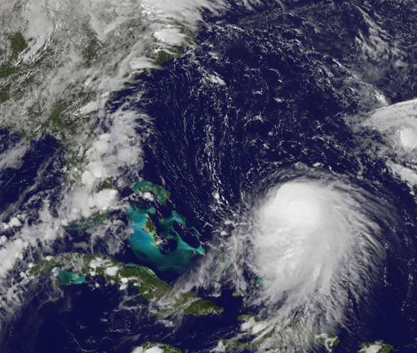 Tropical Storm Joaquin was centered about 400 miles