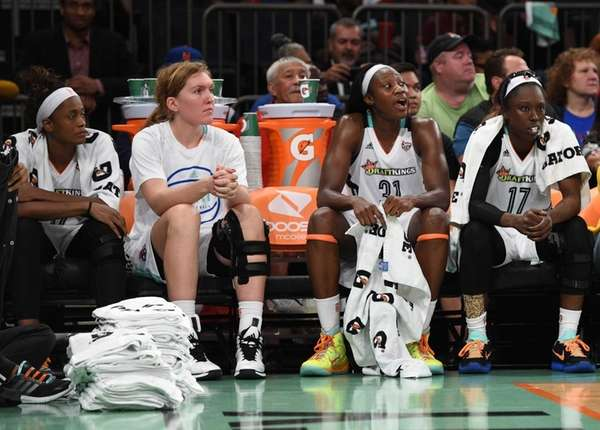 New York Liberty players, including New York Liberty