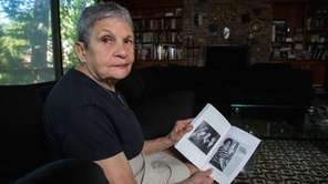 Lois Schaffer with her book