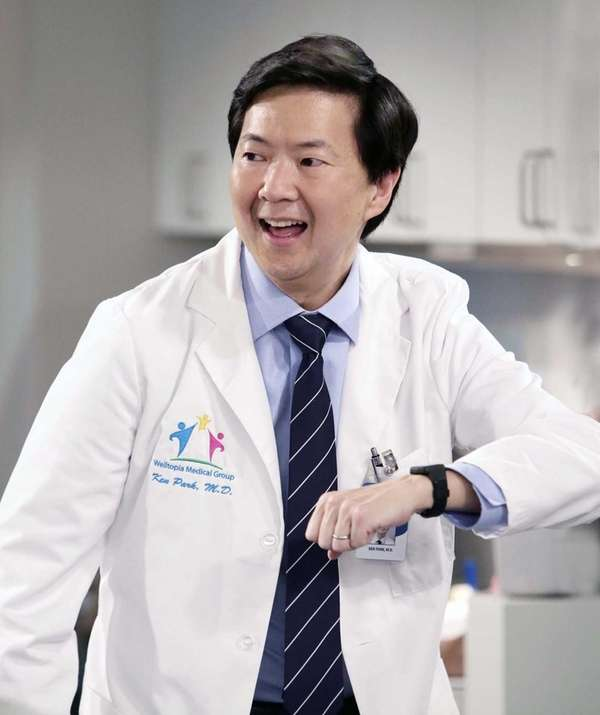 Comic Ken Jeong, who is a physician, plays
