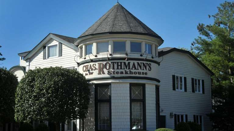 Rothmann's is a popular upscale steakhouse located in