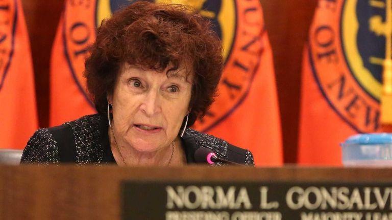 Norma Gonsalves, presiding officer of the Nassau County