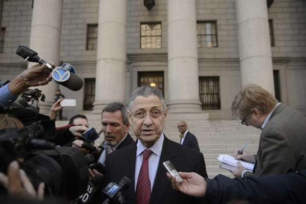 Former New York State Assembly Speaker Sheldon Silver