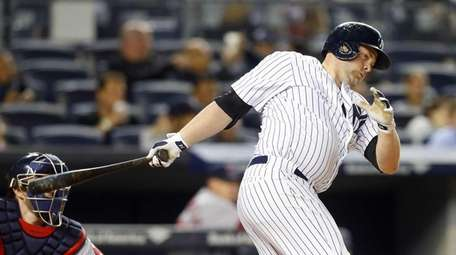 Brian McCann #34 of the New York Yankees