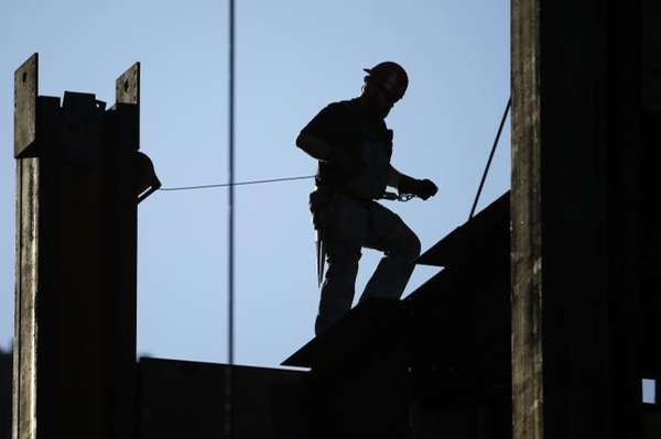 The value of contracts for future construction in