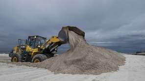 Berms are put into place amid concerns about