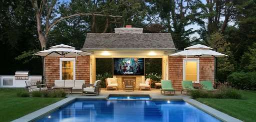 Outdoor spaces that mimic the indoors are all