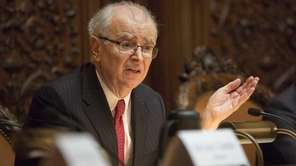 Chief Judge Jonathan Lippman in Manhattan on Sept.