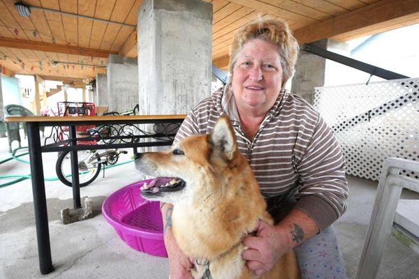 Lynne Ferrandino was flooded by superstorm Sandy three